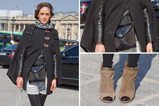 Fashion week : les street looks des défilés parisiens PAP automne-hiver 2011-2012 66