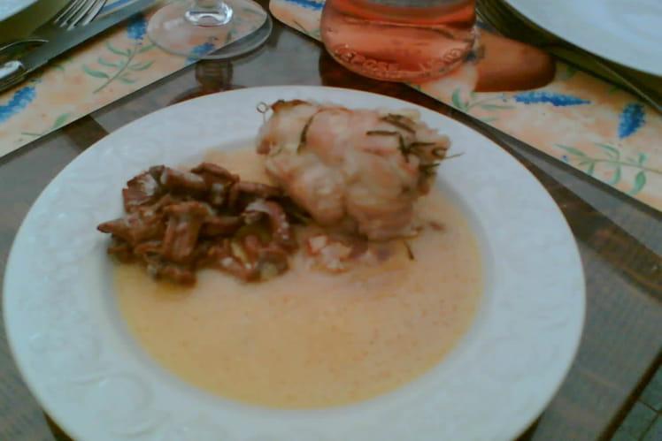 Poulet au camembert