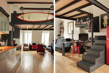 une d co inventive. Black Bedroom Furniture Sets. Home Design Ideas