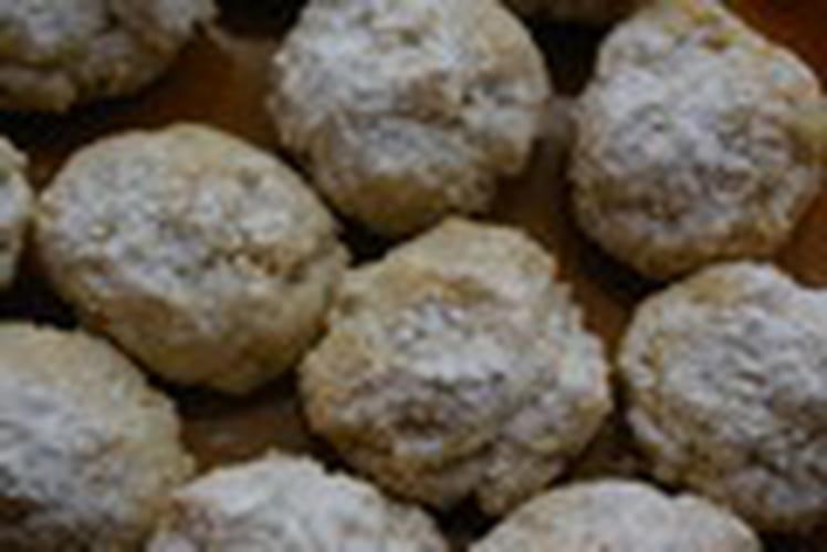 Petits gâteaux aux amandes de Toscane
