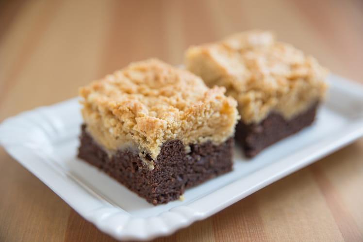 Brookie mi brownie-mi cookie tout chocolat