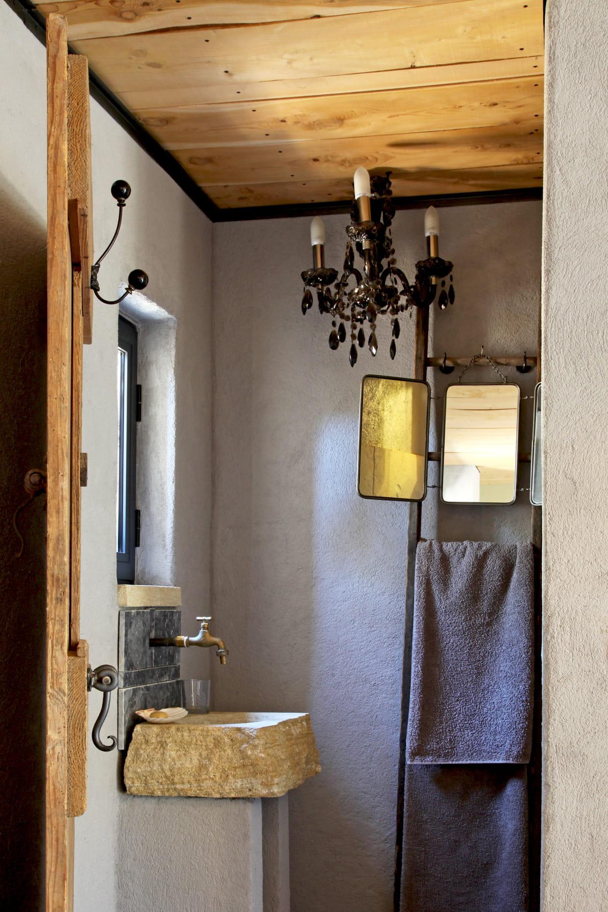 Salle de bains rustique chic - Salle de bain rustique chic ...