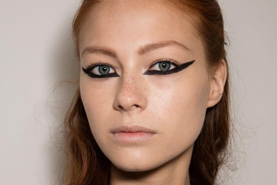Christian Dior : le liner graphique du défilé haute couture AH 2016-2017