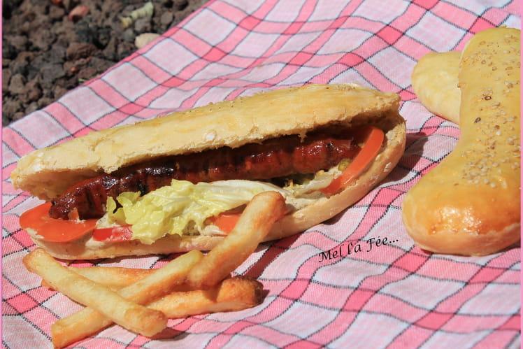 Petits pains faciles pour sandwich