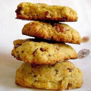 cookies moelleux chocolat et noix de pécan