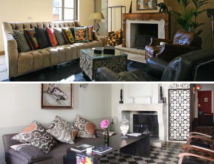 les coussins. Black Bedroom Furniture Sets. Home Design Ideas