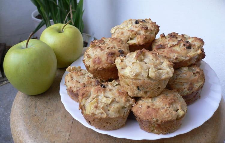 recette de muffins aux pommes raisins secs et noisettes. Black Bedroom Furniture Sets. Home Design Ideas