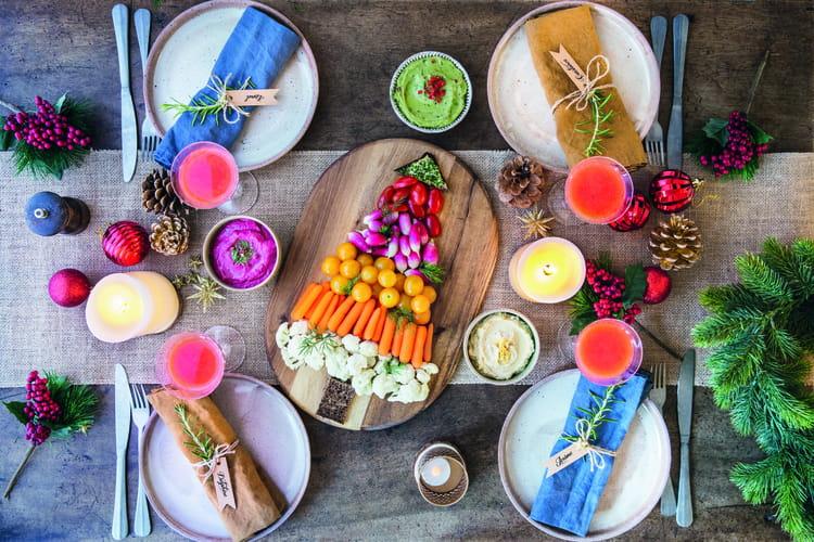 Sapin de Noël aux légumes Florette