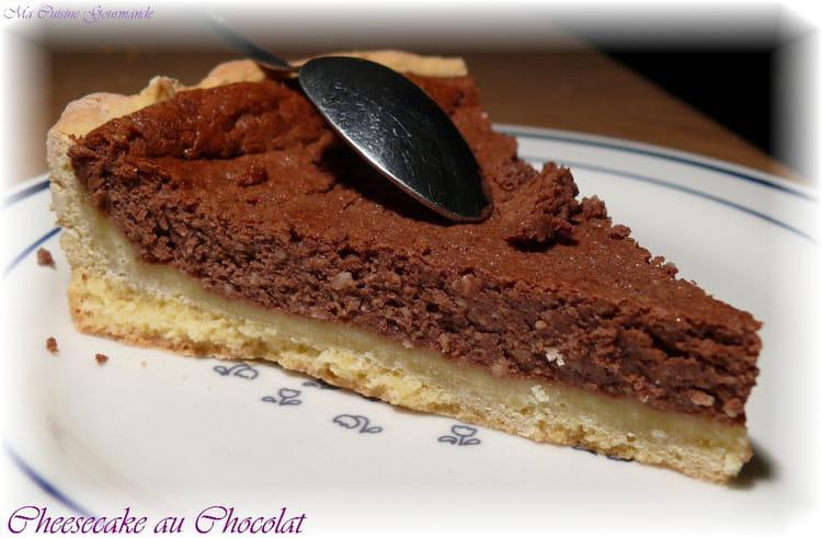 recette de cheesecake au cacao et poudre d 39 amandes la recette facile. Black Bedroom Furniture Sets. Home Design Ideas