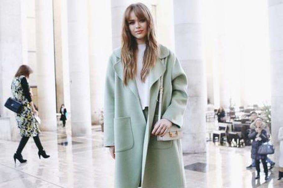 Le look blogueuse de la semaine : Kristina Bazan de Kayture à la fashion week de Paris