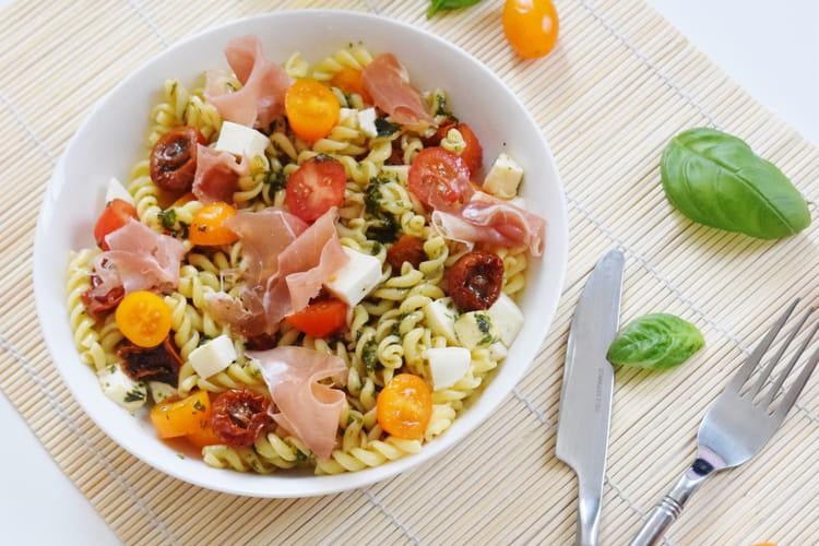 Salade de pâtes : la meilleure recette  italienne