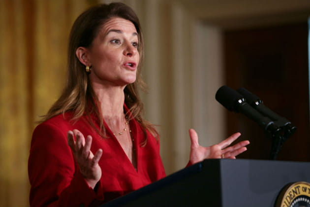 Melinda Gates, philantrope soft