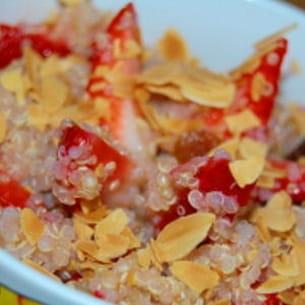 salade de fraises au quinoa