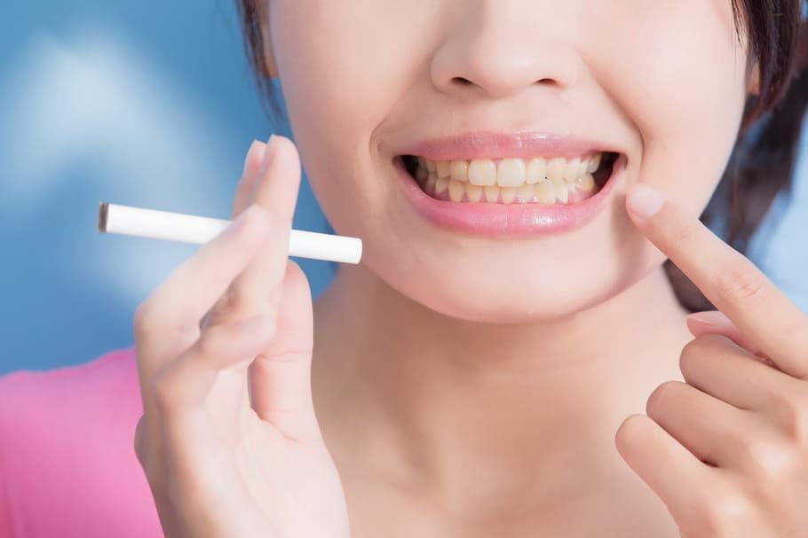 Bienfaits de l'arrêt du tabac: peau, cheveux, dents, poumon