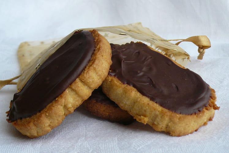 Biscuits à la polenta et au chocolat