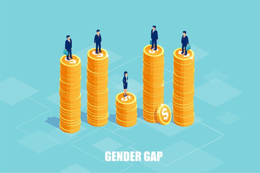 Salaire: 1euro pour un hommes = 88centimes pour une femme