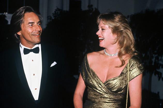 Melanie Griffith et Don Johnson