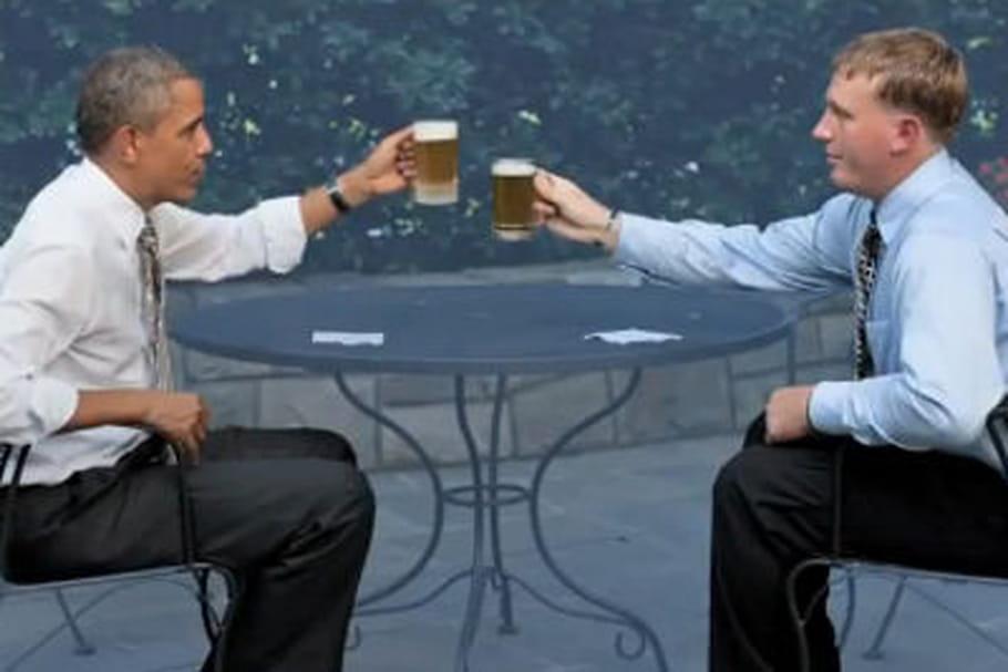 Barack Obama dévoile la recette de sa bière présidentielle