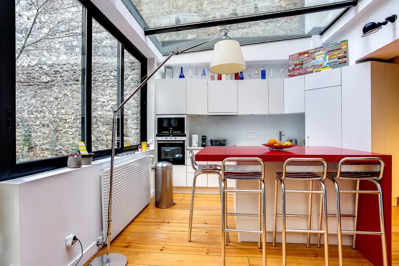 Un meuble de cuisine sur mesure for Meuble de cuisine sur mesure