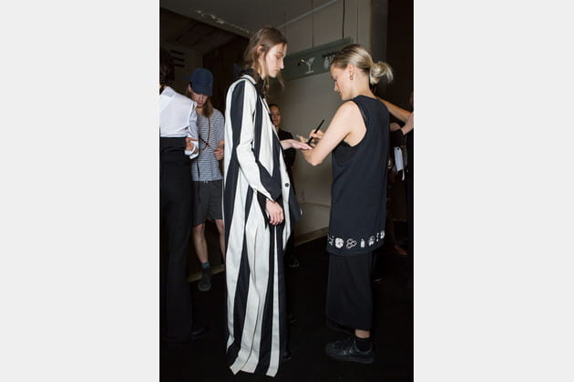 Ann Demeulemeester (Backstage) - photo 17
