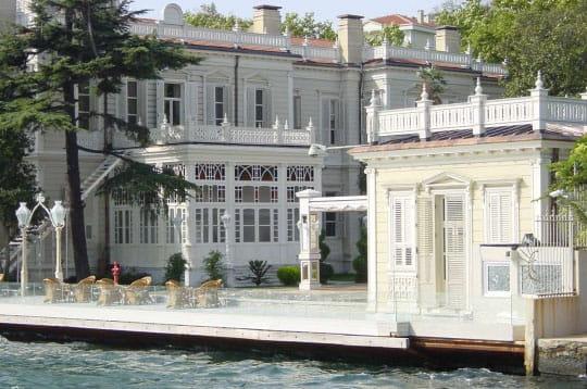 Villa sur le Bosphore