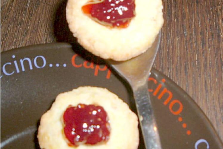 Mini tartelettes à la fraise