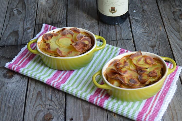 Gratin de pommes de terre au boeuf serbe Musaka sa krompirom