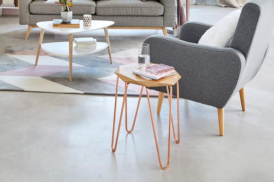 bout de canap rita par maisons du monde. Black Bedroom Furniture Sets. Home Design Ideas