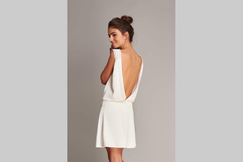 1cdbae2a479 45 robes de mariée courtes