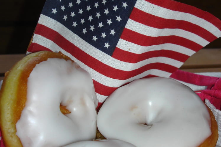 Donuts avec glaçage