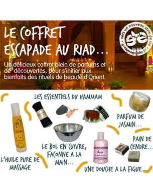 le coffret 'escapade au riad' de greenrepublic.fr