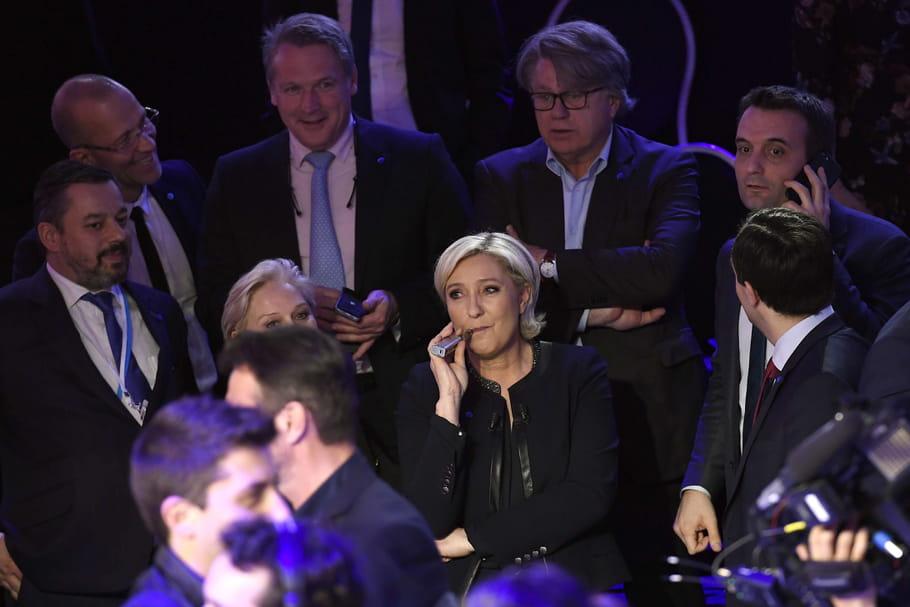 Marine Le Pen: qui sont les femmes qui l'entourent?