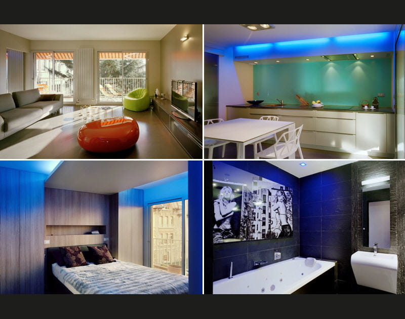 L'incroyable rénovation d'un appartement