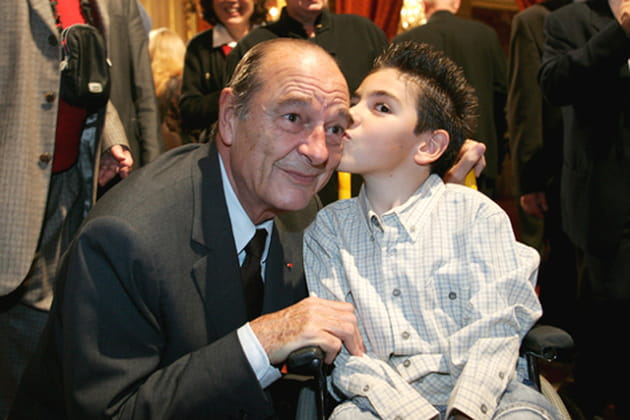 Jacques Chirac et le Téléthon