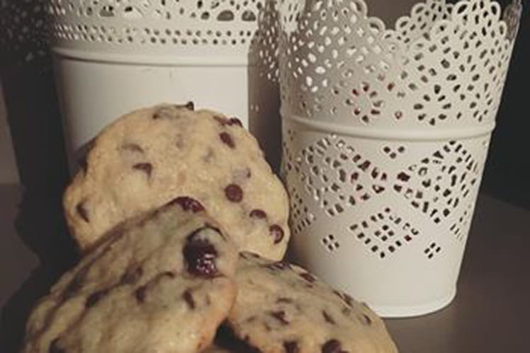 Cookies pépites de chocolat café