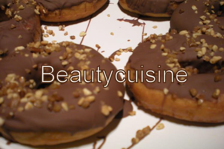 Donuts chocolat noisette