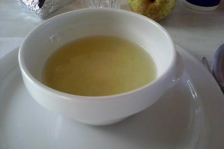 Soupe à l'oignon (sans morceaux)