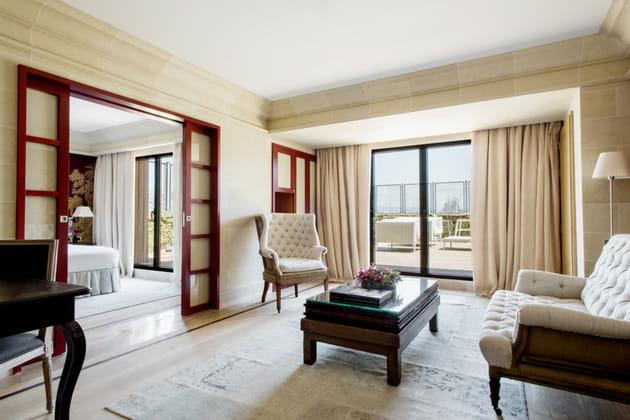 Les suites et le Majestic Royal Penthouse
