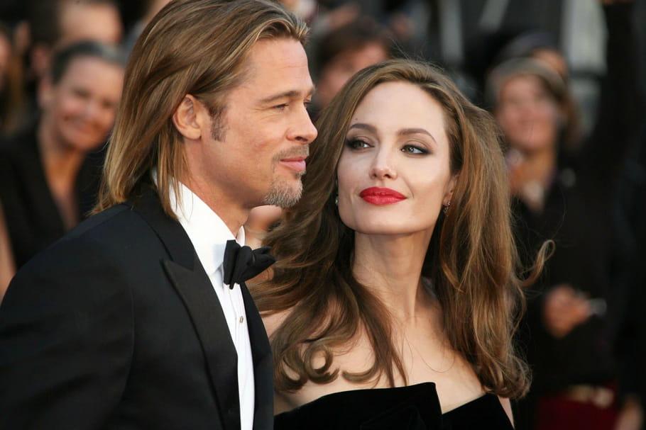 Angelina n'a d'yeux que pour Brad