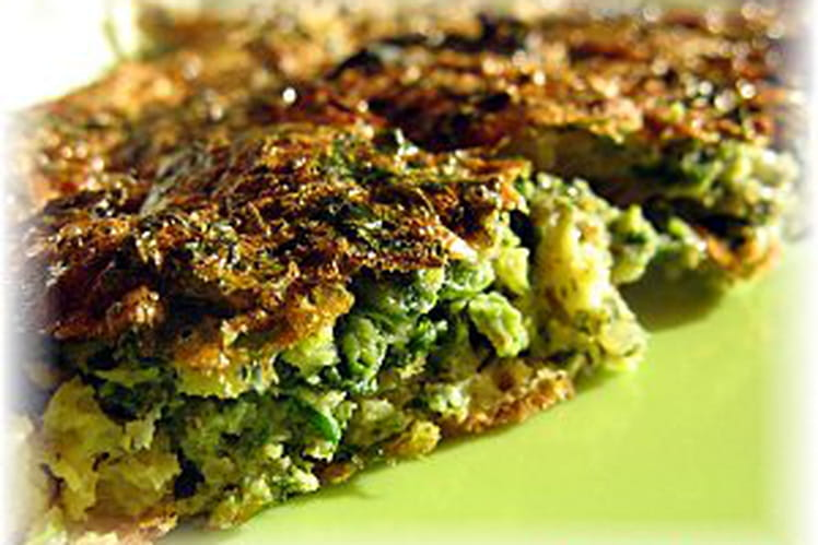Omelette aux herbes