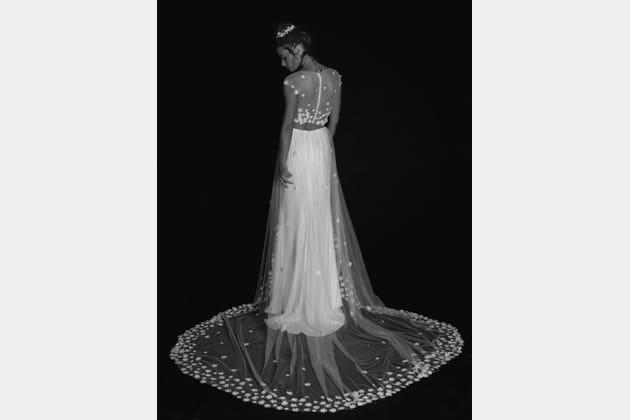 Robe de mariée Blake Loreleï, de dos