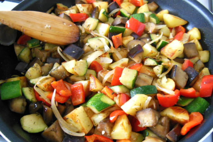 Mijotée aux légumes du Midi