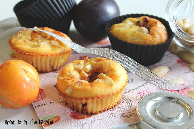 Clafoutis aux deux prunes et amandes broyées