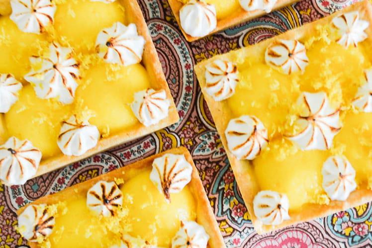 Tartelettes au citron meringuée pâte sablée Pierre Hermé