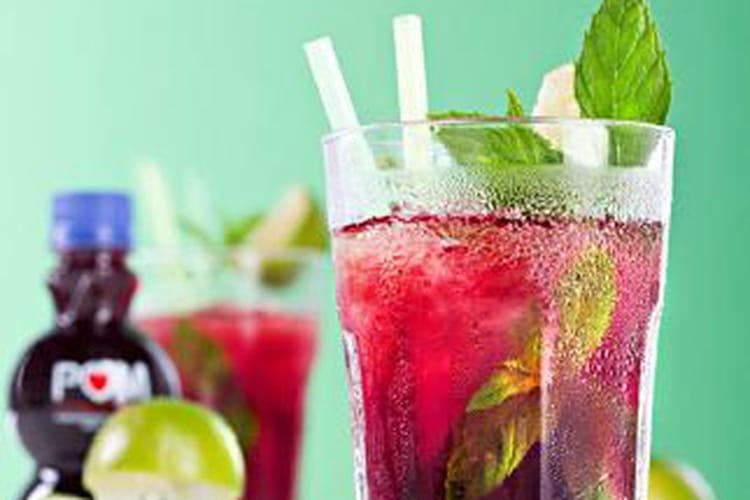 Cocktail POM Mojito