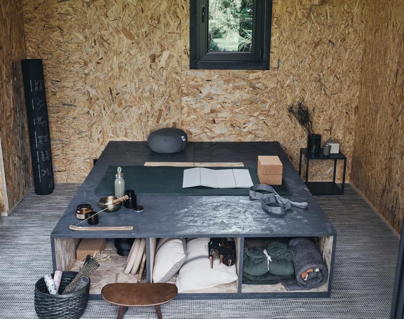 Un studio de jardin dédié aux loisirs