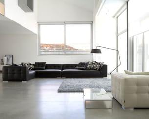 Esprit loft black white for Salon ligne roset