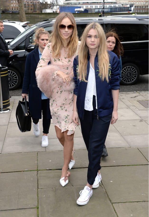 Suki Waterhouse et Immy Waterhouse