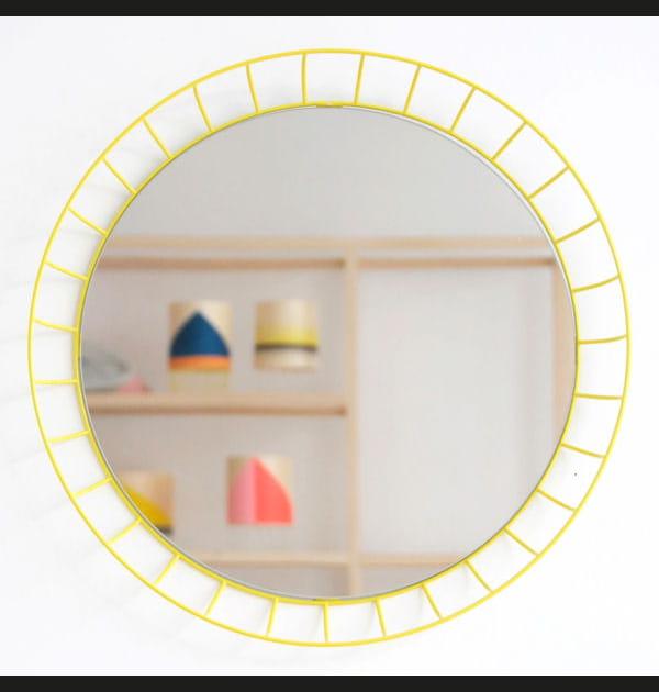 Miroir coloré et aérien