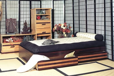 comment am nager un dressing d 39 angle. Black Bedroom Furniture Sets. Home Design Ideas